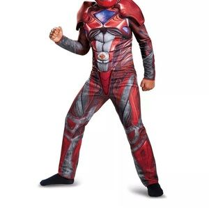 Other - Red Power Ranger Child's muscle chest Costume